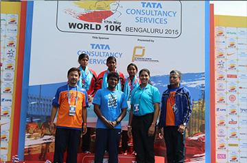 TCS World 10k Bengaluru-2015